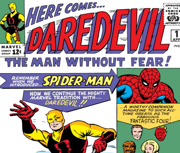Cover from Daredevil (1963) #1