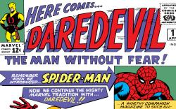 Cover from Daredevil (1963) #1