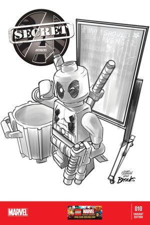 Secret Avengers (2013) #10 (Castellani Lego Sketch Variant)