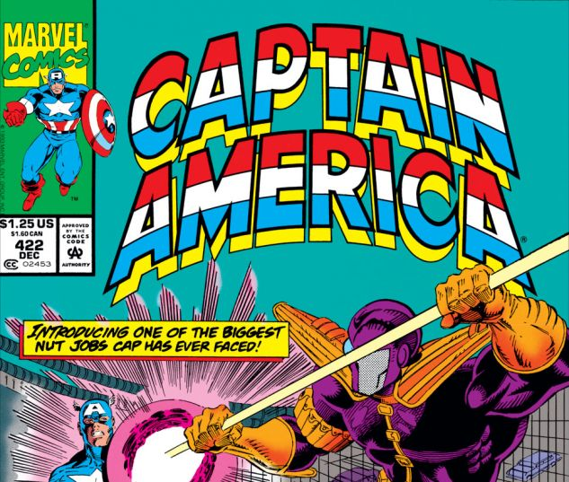 Captain America (1968) #422 Cover