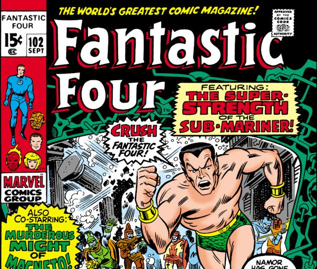 Fantastic Four (1961) #102 Cover