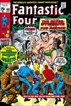 Fantastic Four (1961) #102