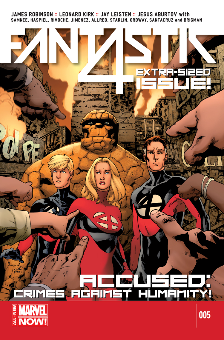 Fantastic Four (2014) #5