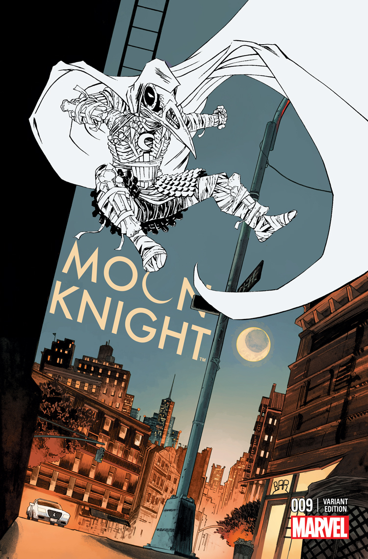 Moon Knight (2014) #9 (Shalvey Variant)