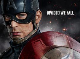Chris Evans & Robert Downey Jr. star as Captain America & Iron Man in Marvel's Captain America: Civil War