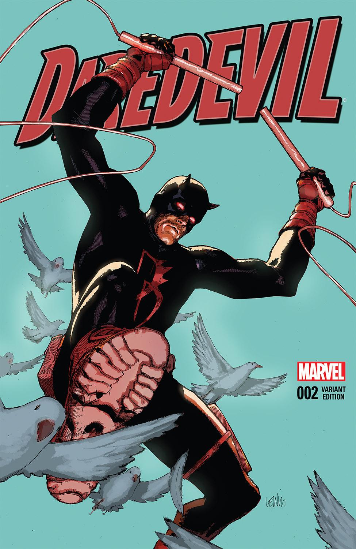 Daredevil (2015) #2 (Yu Variant)
