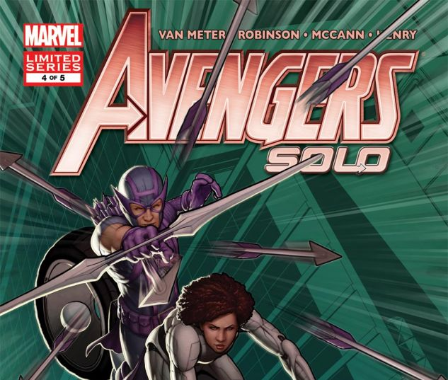 AVENGERS: SOLO (2011) #4 Cover