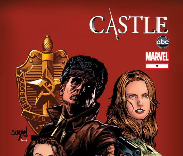 CASTLE: A CALM BEFORE STORM (2012) #3 Cover