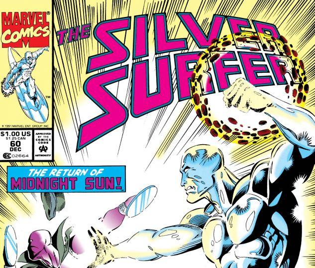 SILVER SURFER (1987) #60