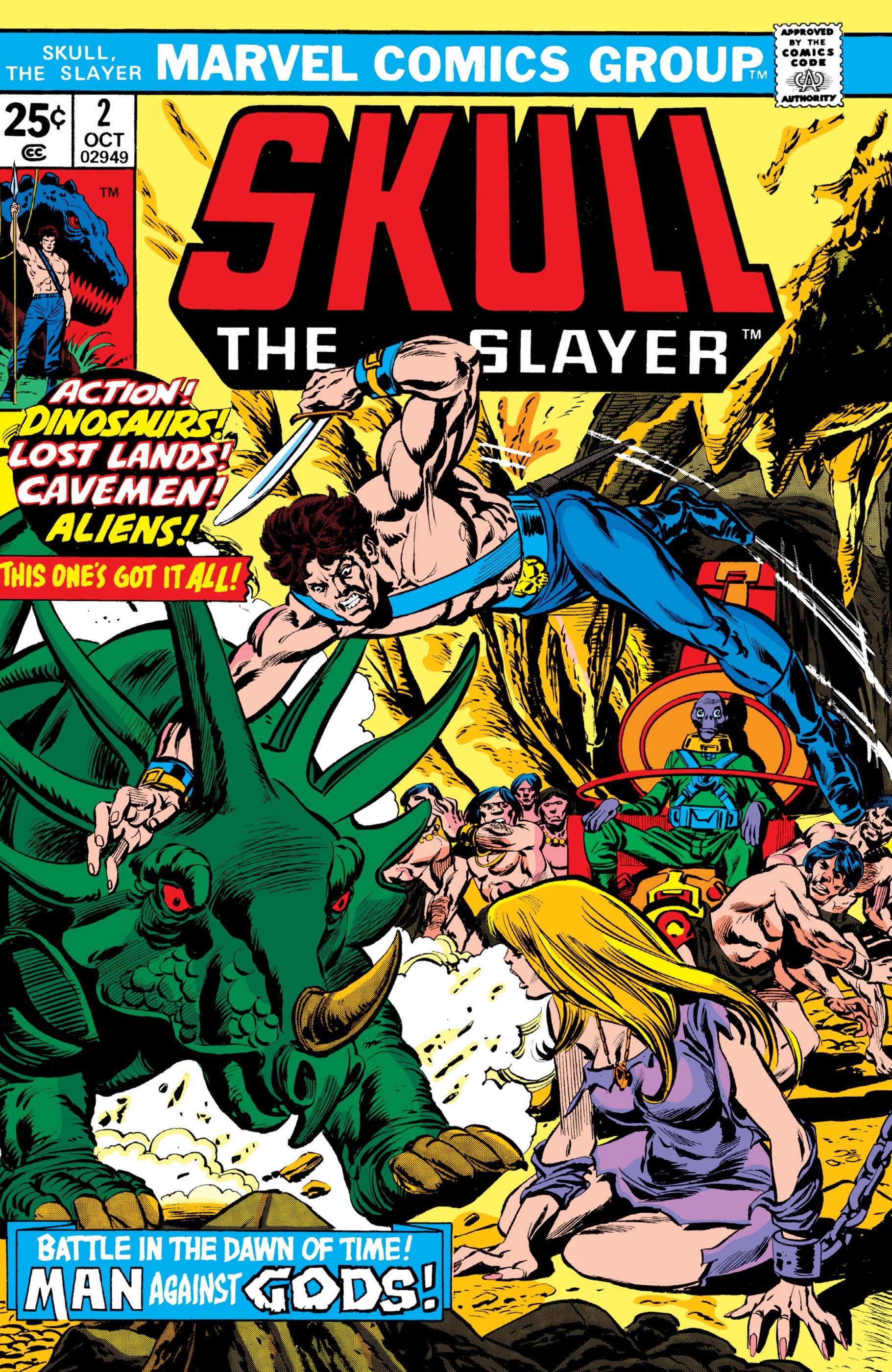 Skull the Slayer (1975) #2