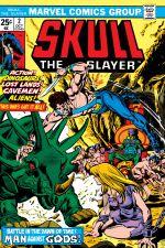 Skull the Slayer (1975) #2 cover