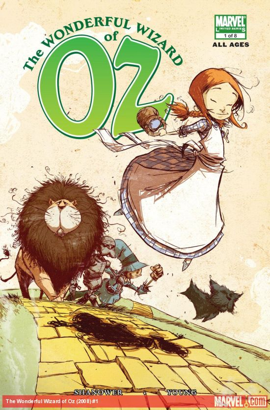 The Wonderful Wizard of Oz (2008) #1