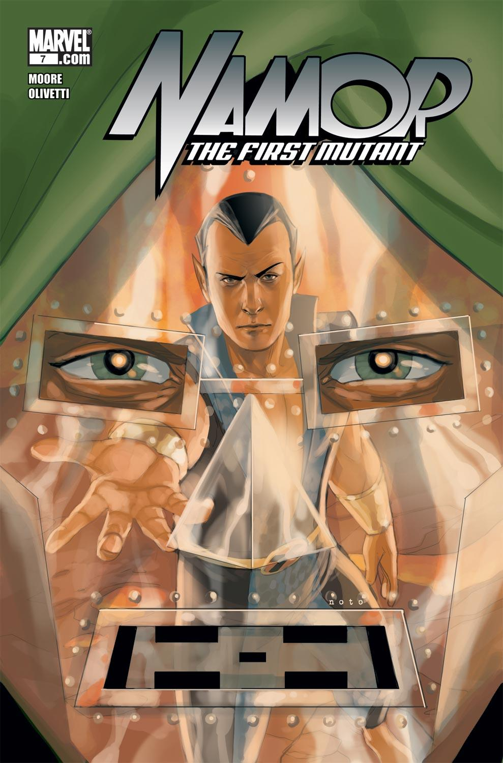 Namor: The First Mutant (2010) #7