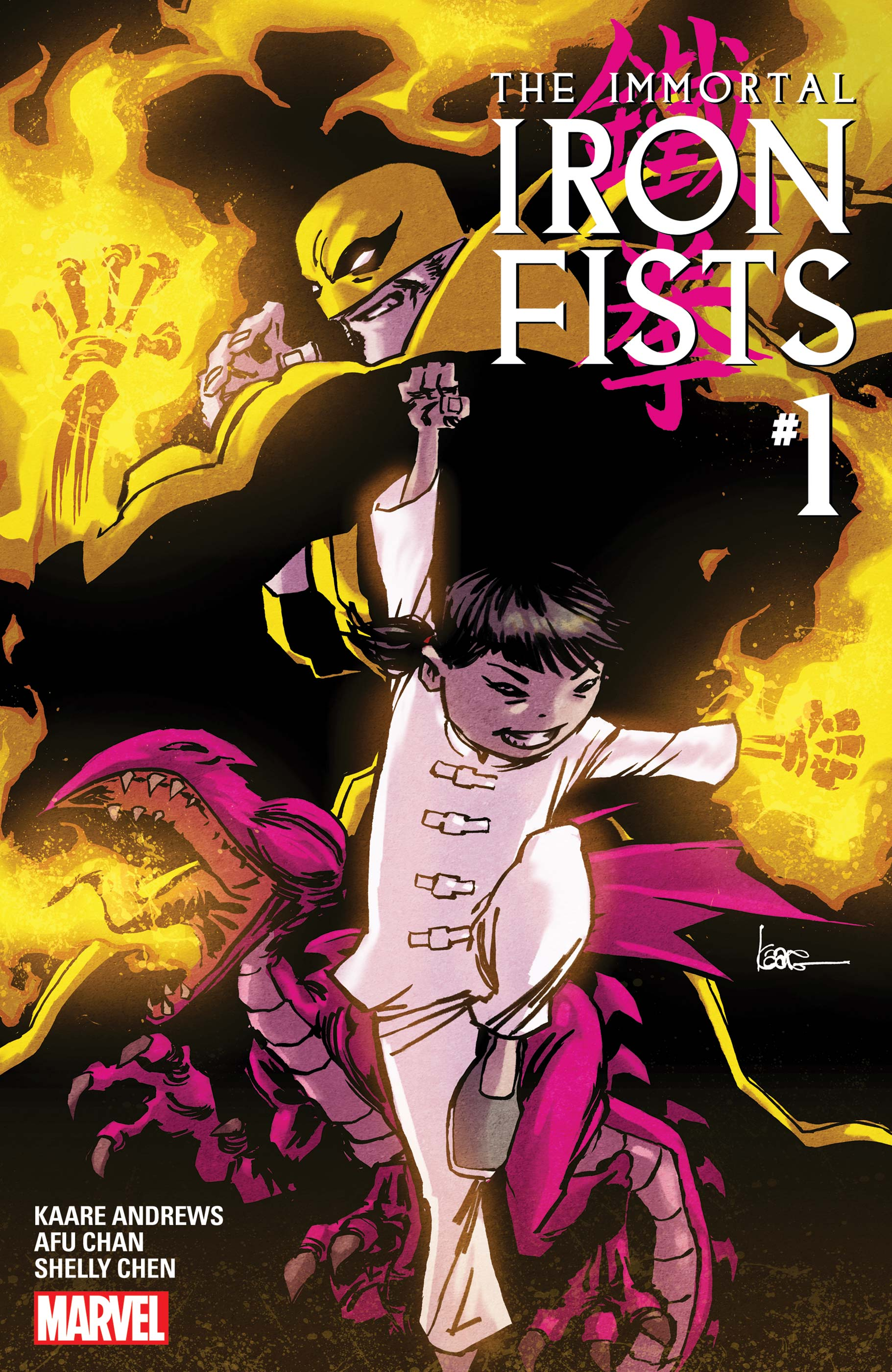 Immortal Iron Fists (2018) #1