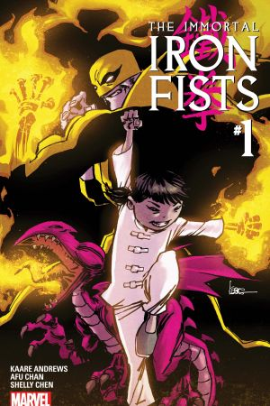 Immortal Iron Fists (2017) #1