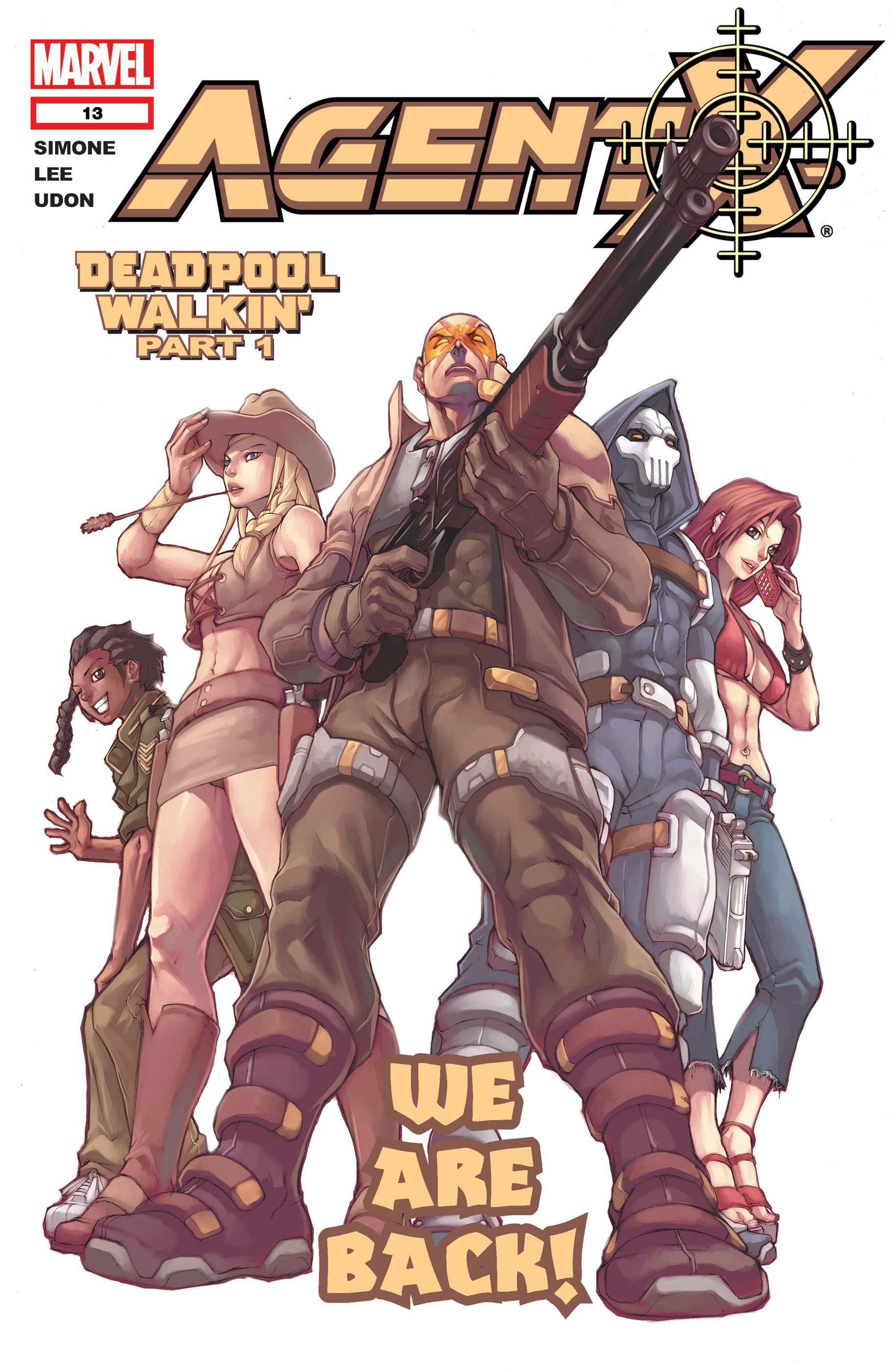 Agent X (2002) #13