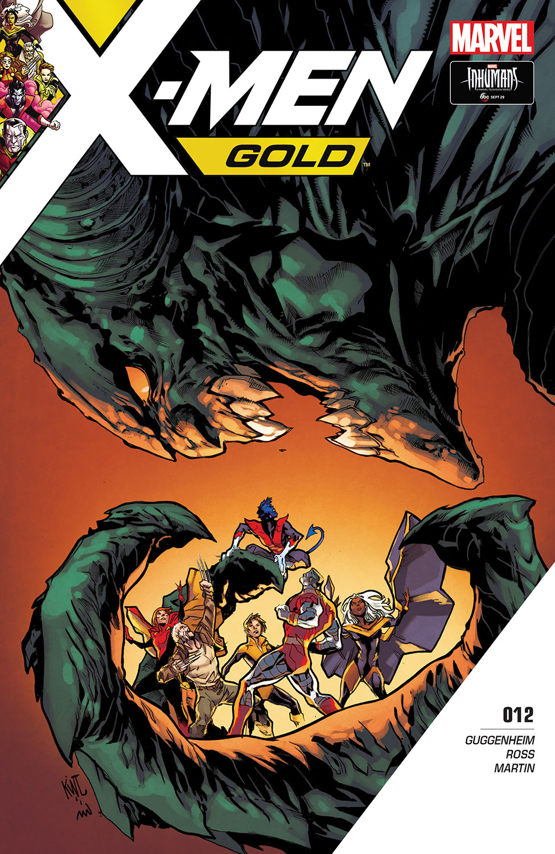 X-Men: Gold (2017) #12