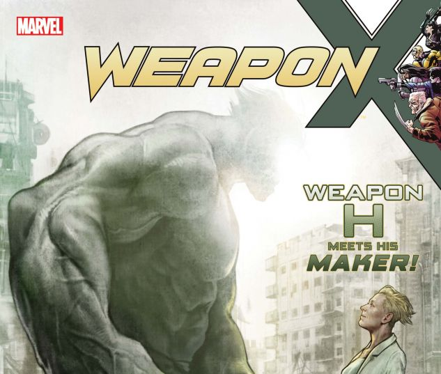 Cover for WEAPON X 10