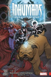 Inhumans: Once and Future Kings (Trade Paperback)