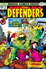 Defenders (1972) #22 cover