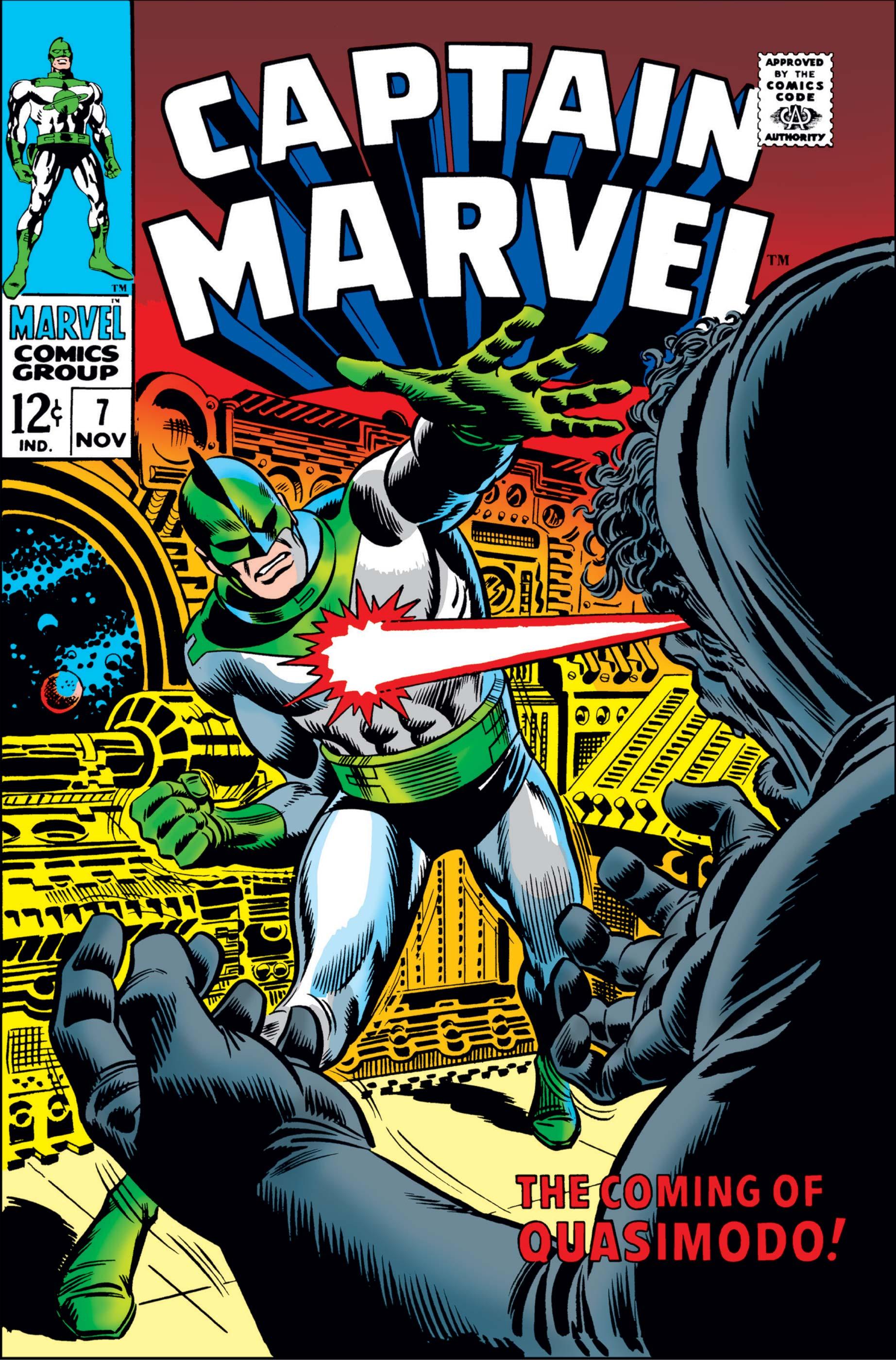 Captain Marvel (1968) #7