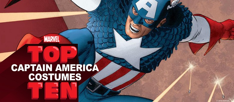 Top 10 Captain America Costumes