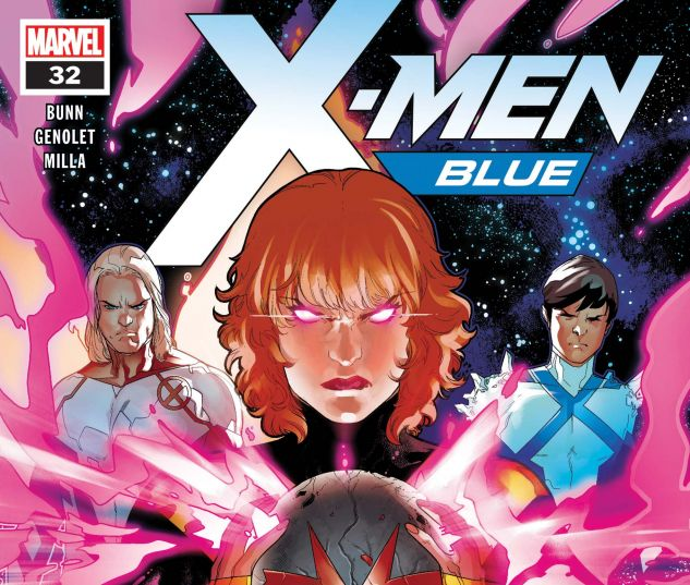 cover from X-Men: Blue (2017) #32