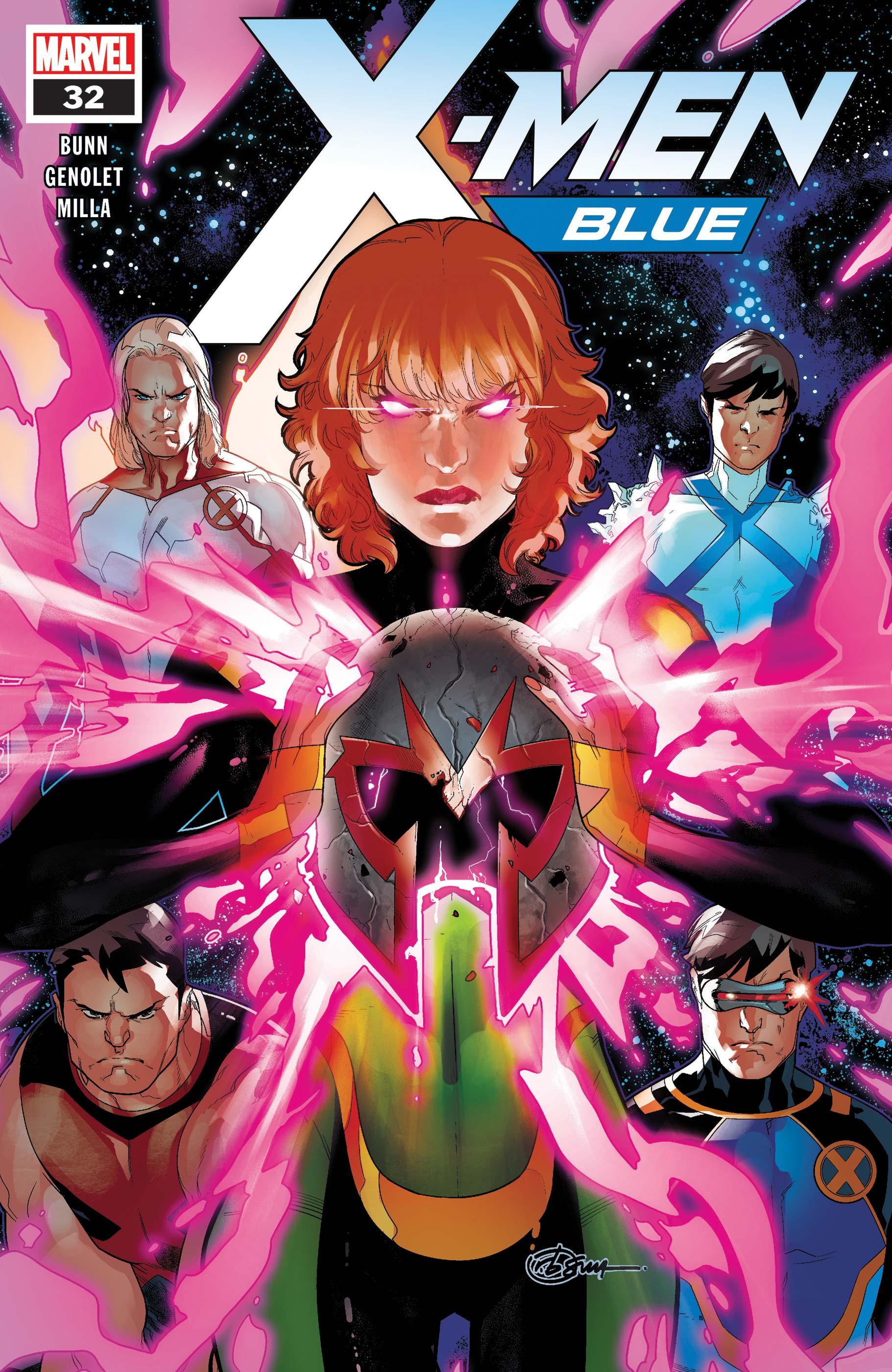 X-Men: Blue (2017) #32