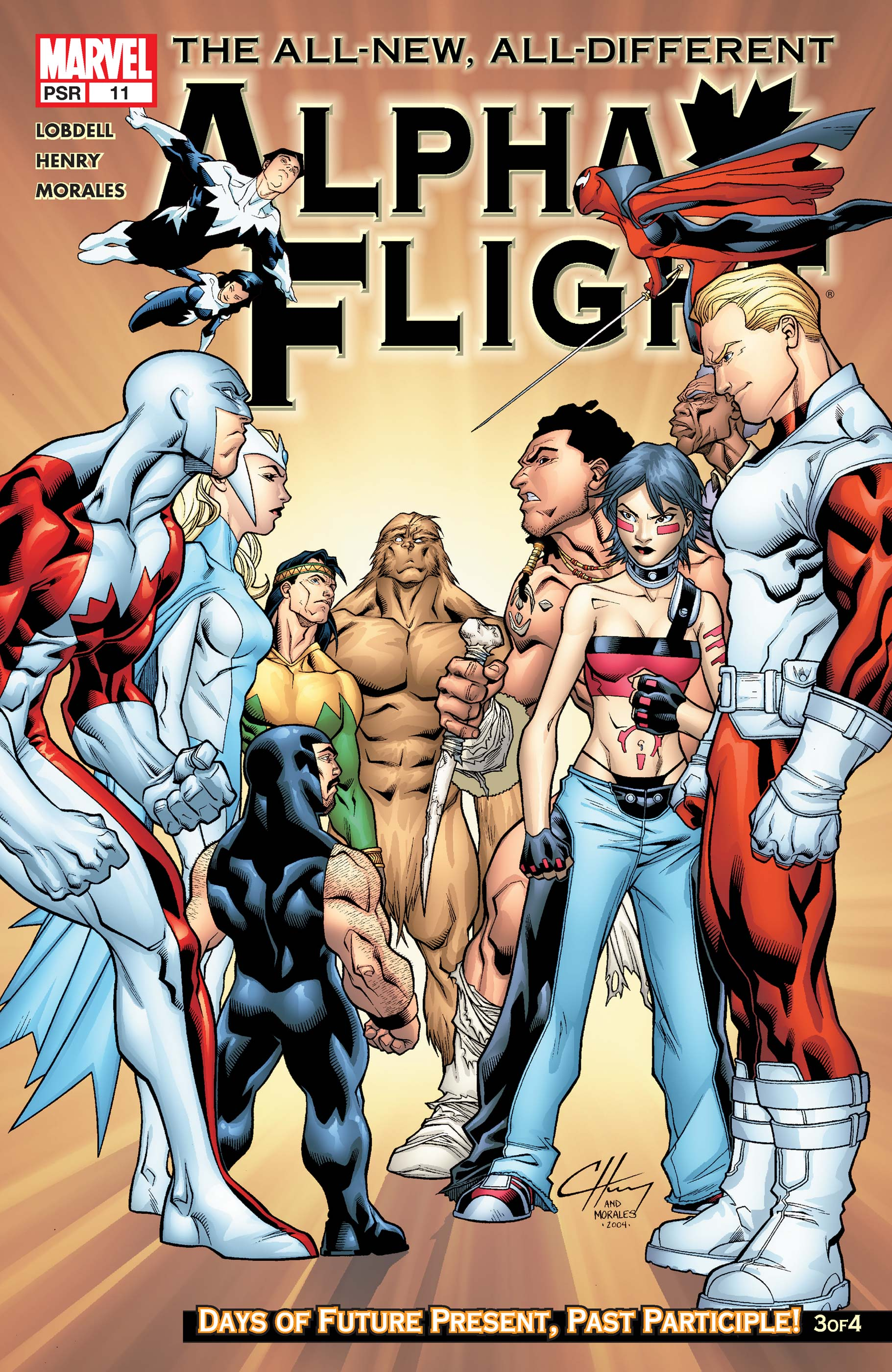 Alpha Flight (2004) #11