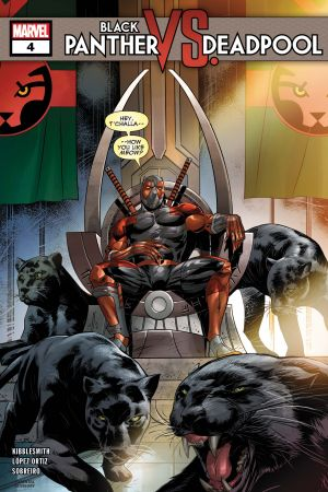 Black Panther Vs. Deadpool #4