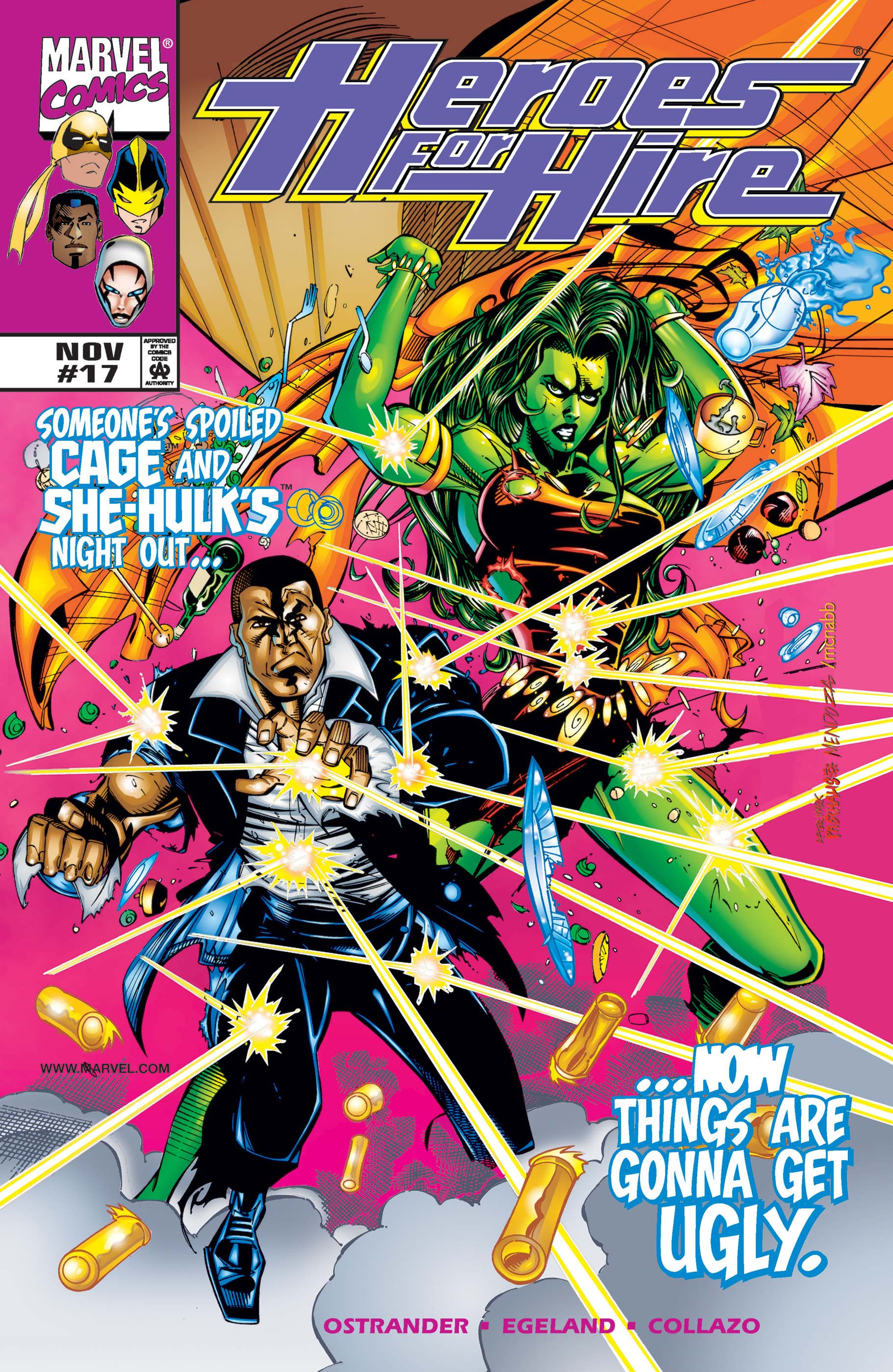 Heroes for Hire (1997) #17
