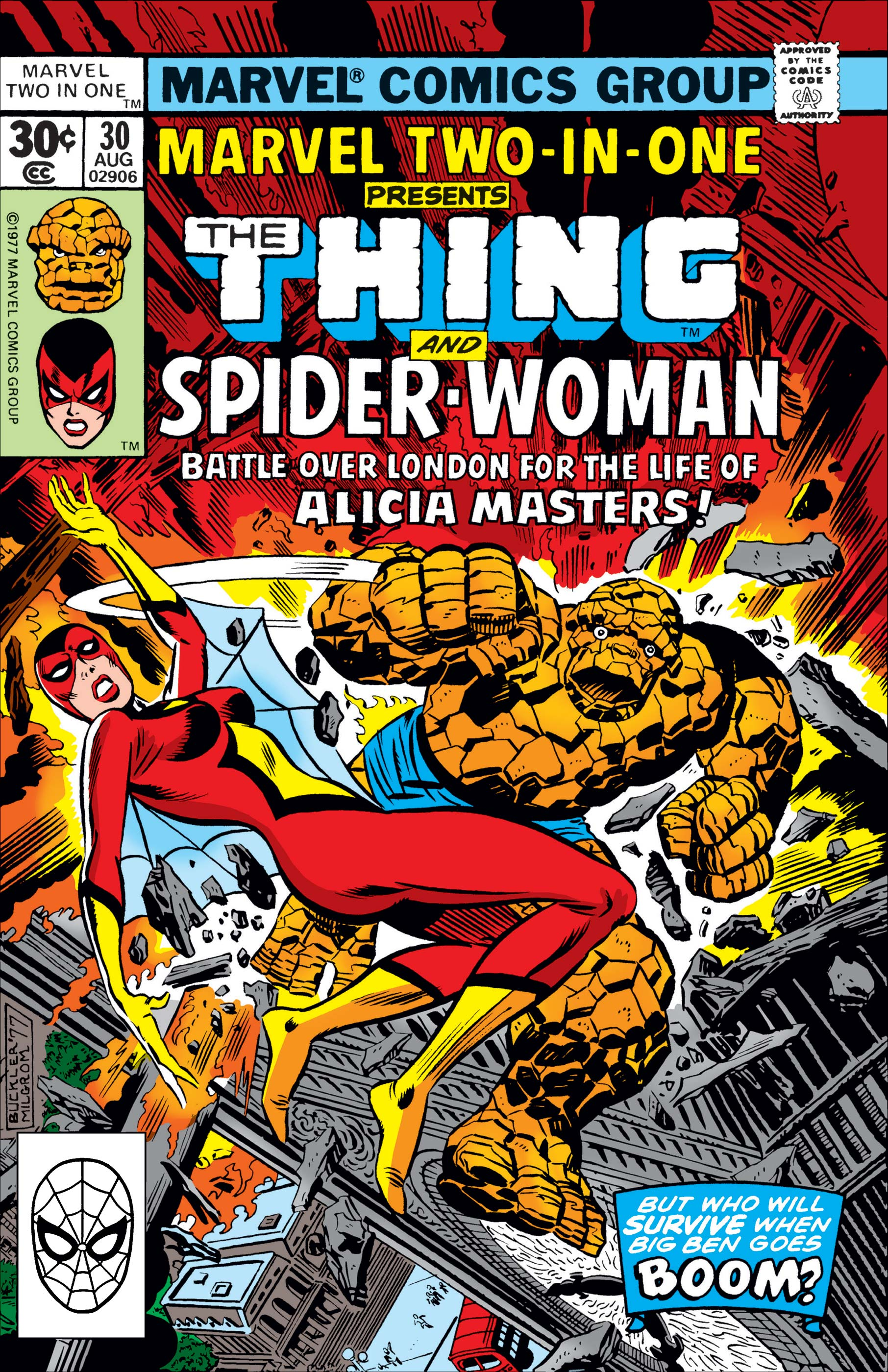 Marvel Two-in-One (1974) #30