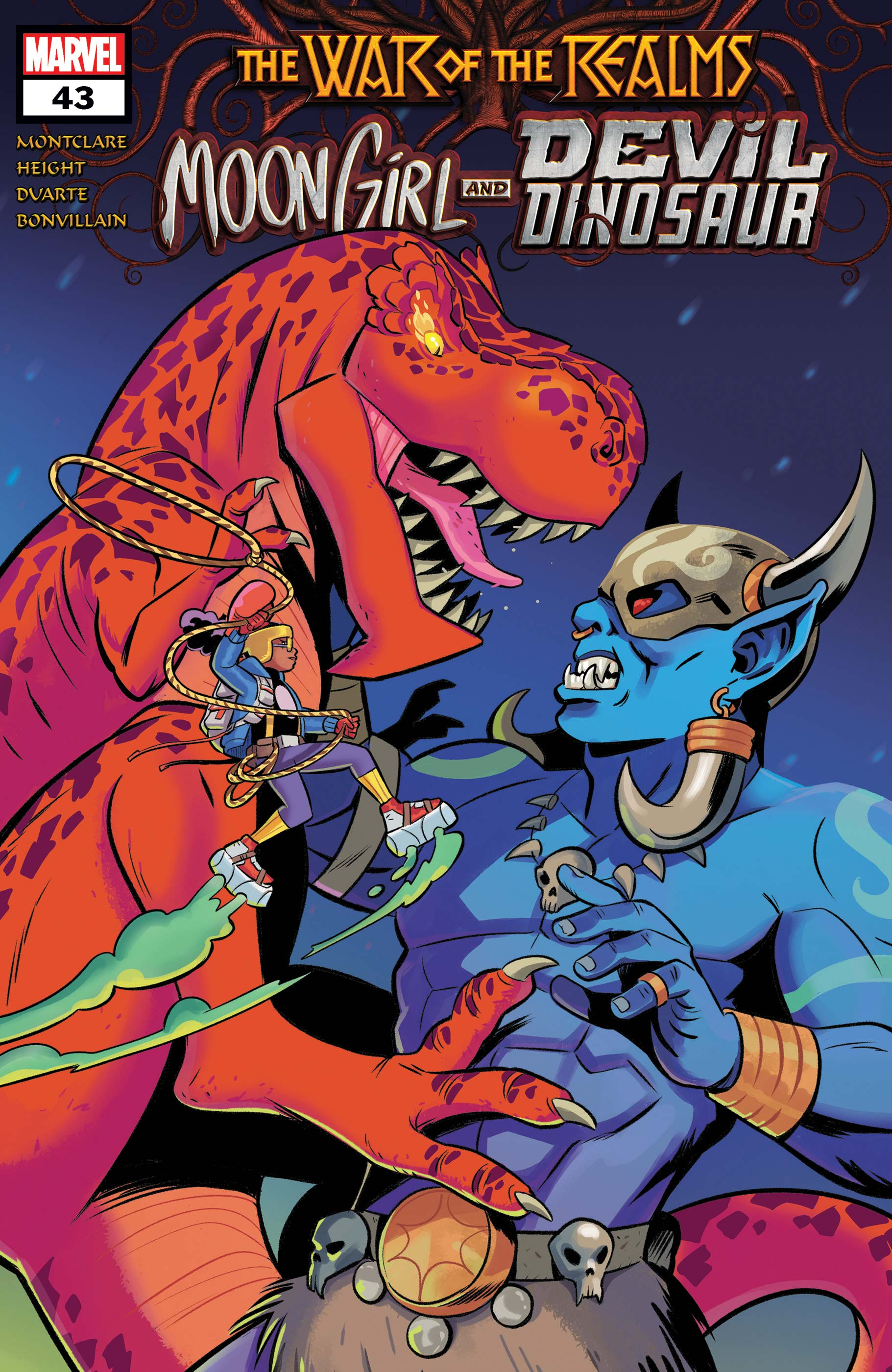 Moon Girl and Devil Dinosaur (2015) #43