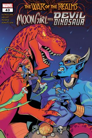 Moon Girl and Devil Dinosaur #43