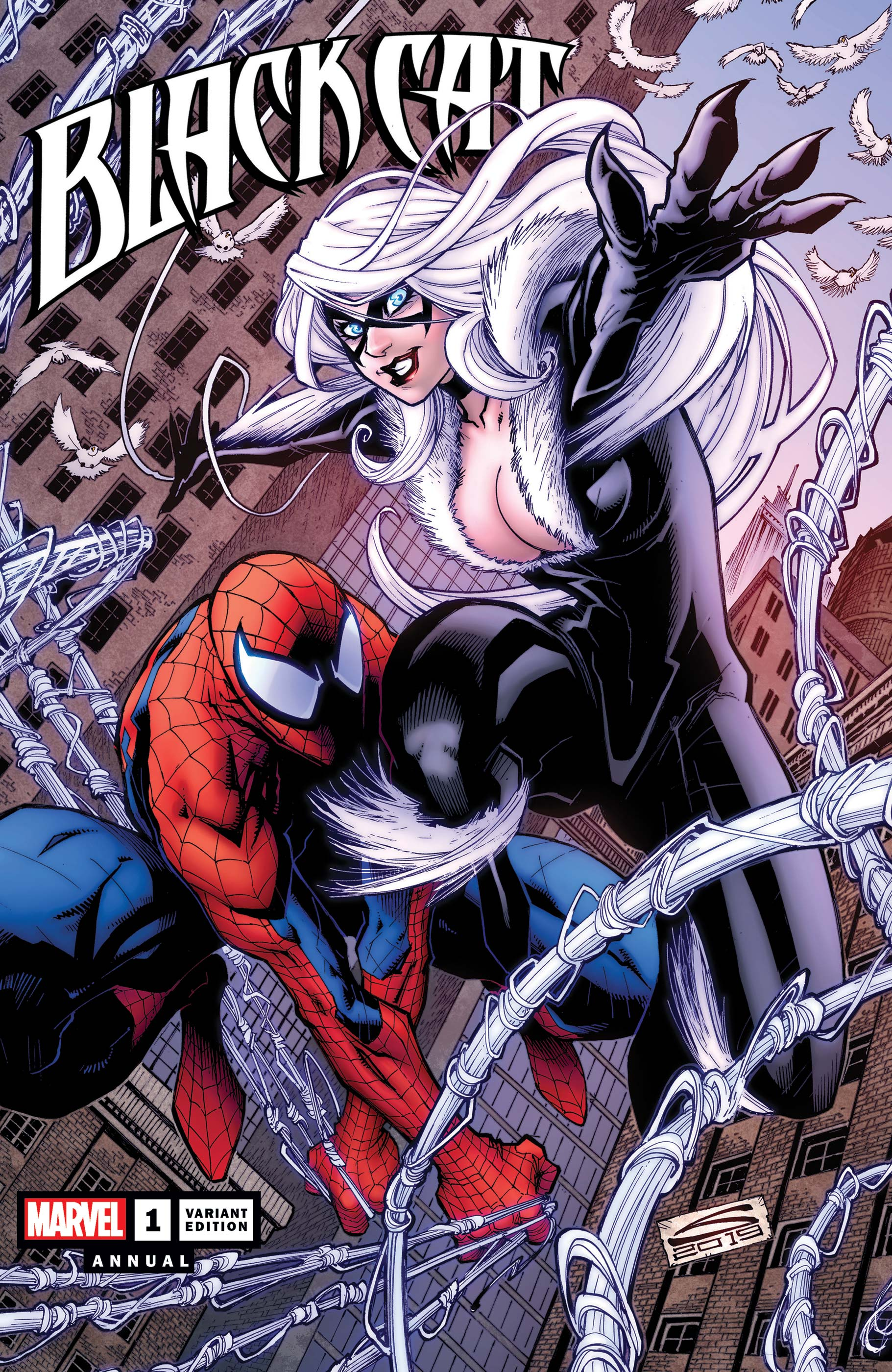 Black Cat Annual (2019) #1 (Variant)