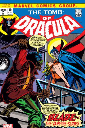 Tomb Of Dracula Facsimile Edition #1