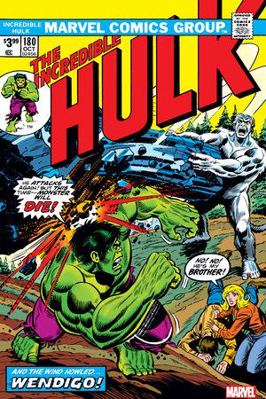 Incredible Hulk: Facsimile Edition #180