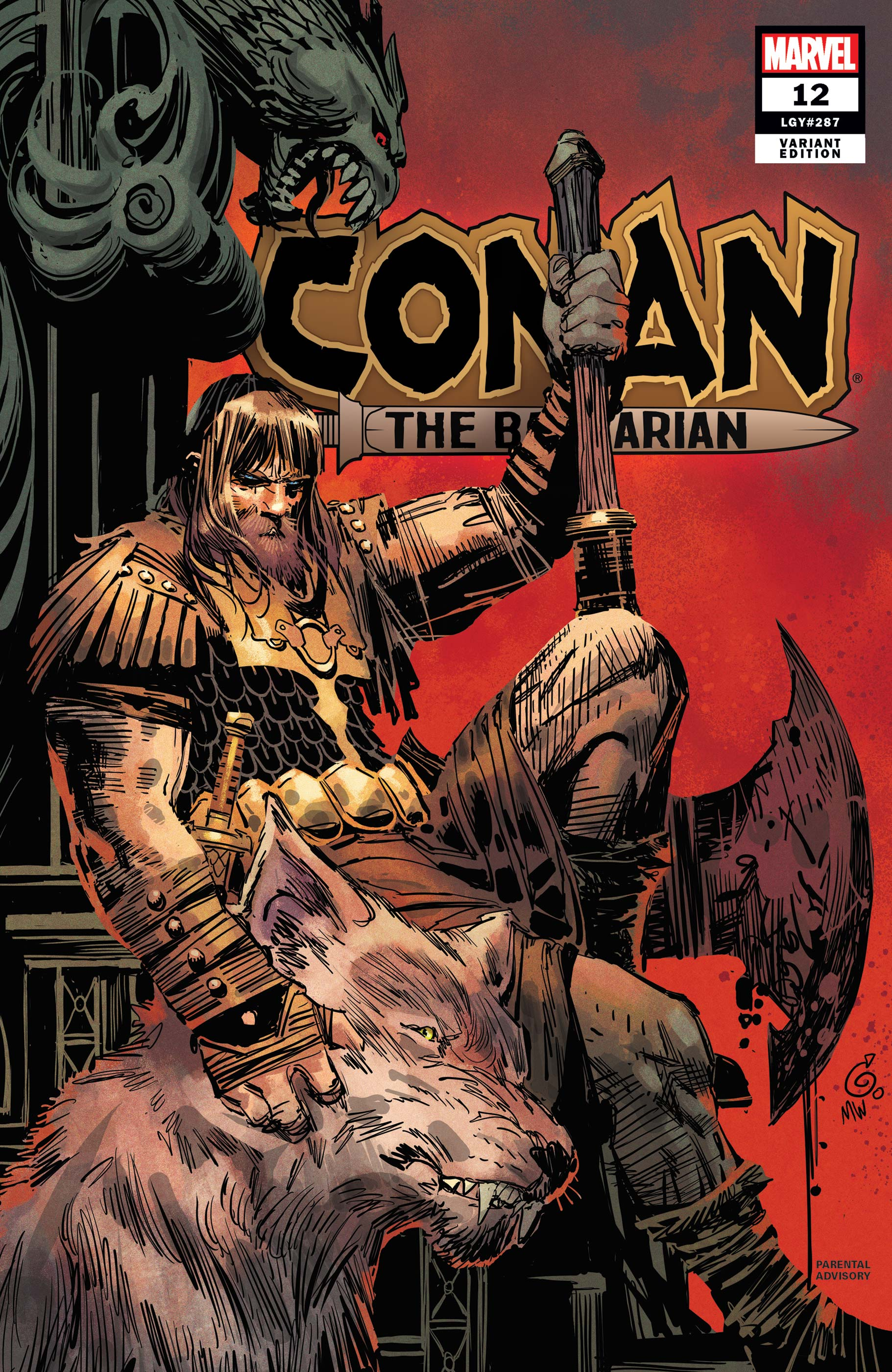 Conan the Barbarian (2019) #12 (Variant)
