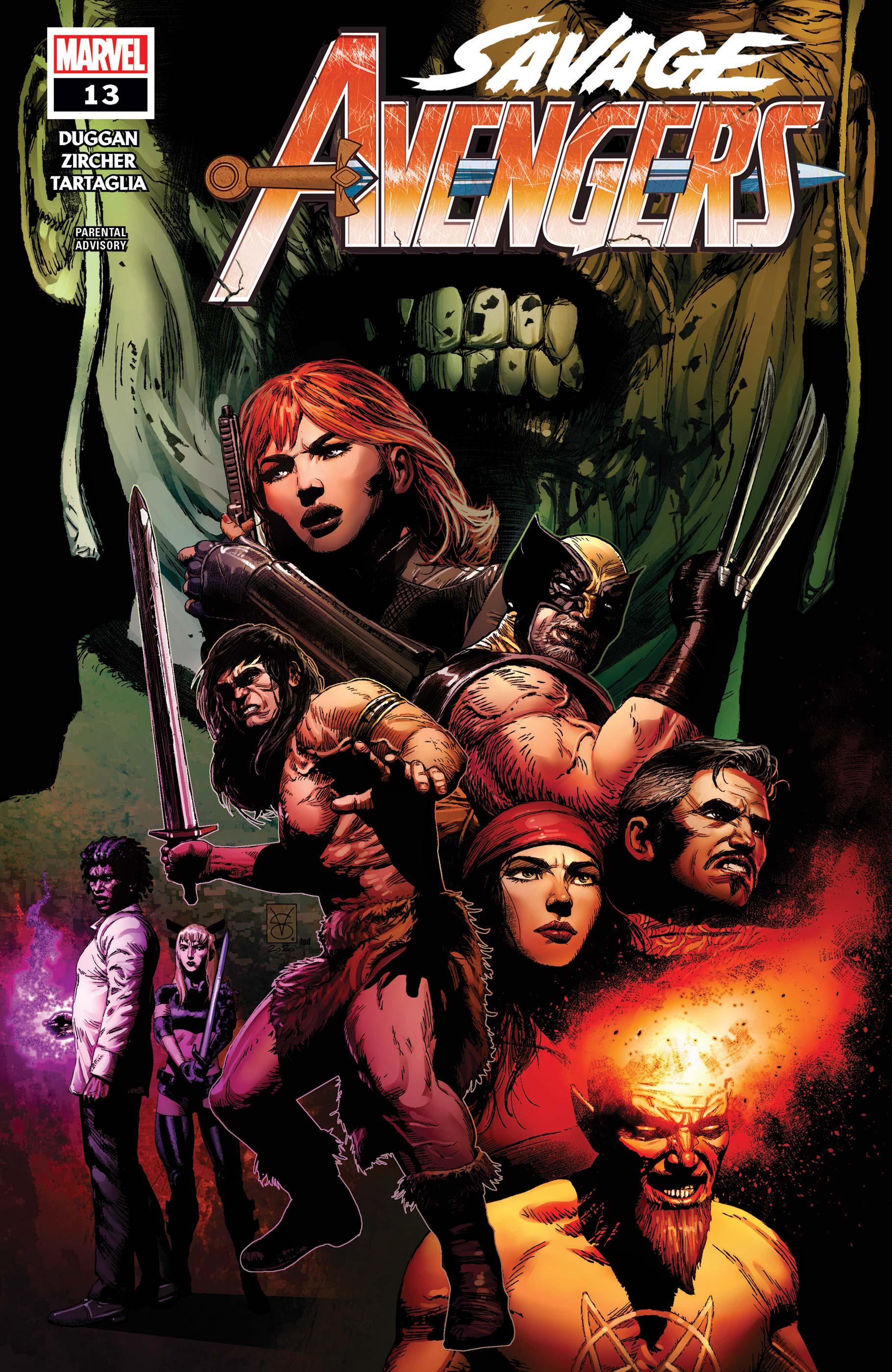 Savage Avengers (2019) #13