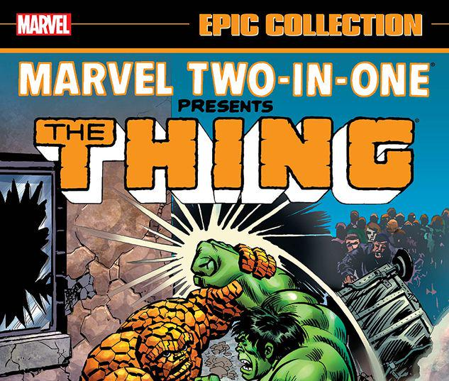MARVEL TWO-IN-ONE EPIC COLLECTION: CRY MONSTER TPB #0