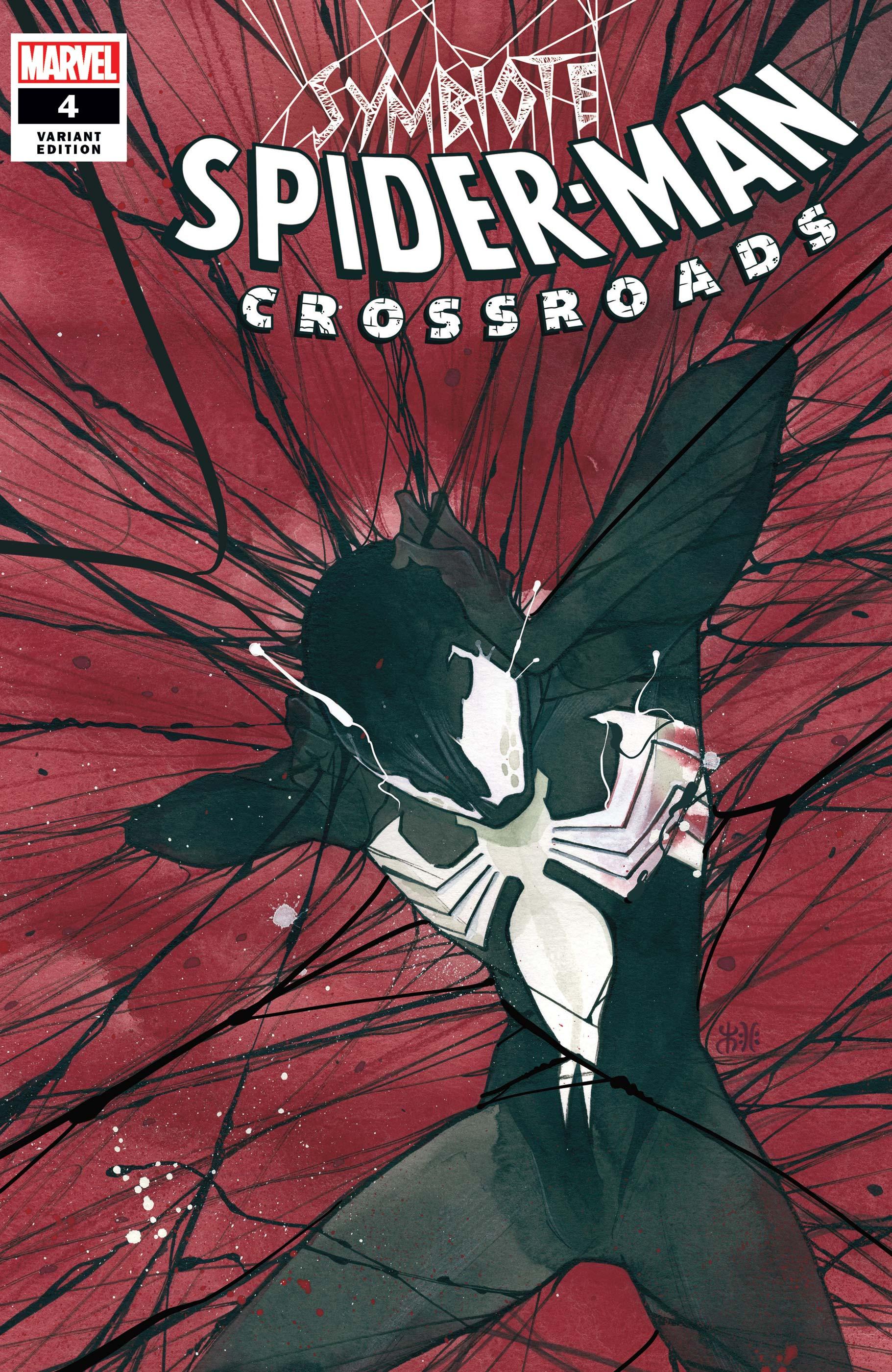 Symbiote Spider-Man: Crossroads (2021) #4 (Variant)