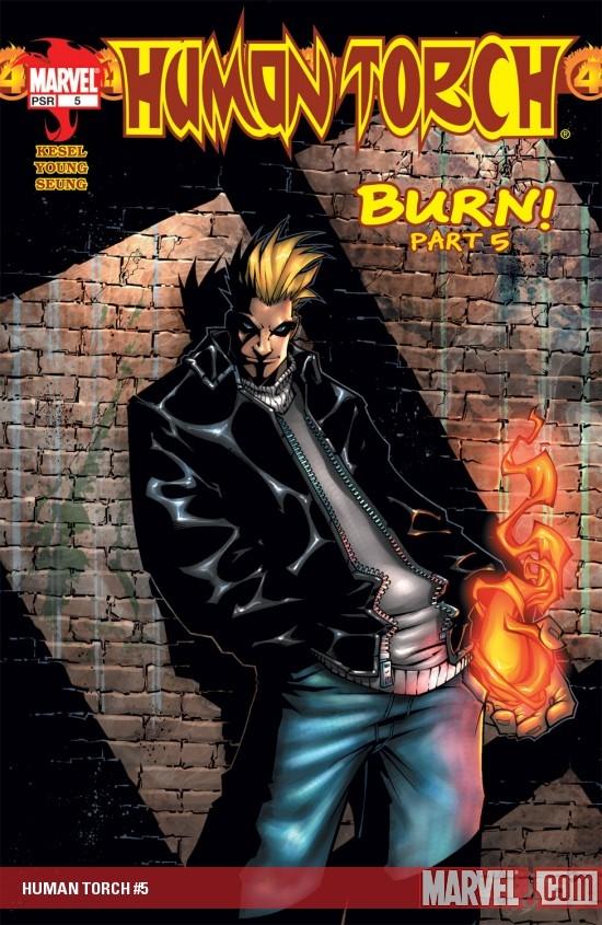 Human Torch (2003) #5