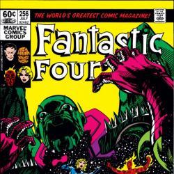 FANTASTIC FOUR #256