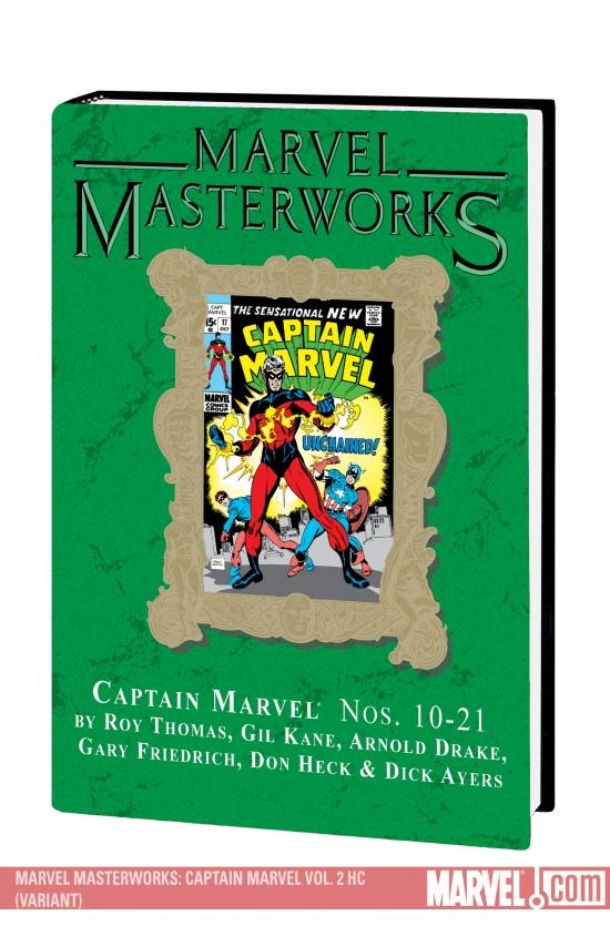 Marvel Masterworks: Captain Marvel Vol. 2 (Variant) (Hardcover)