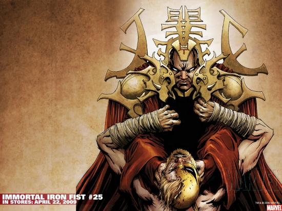 Immortal Iron Fist (2006) #25 Wallpaper