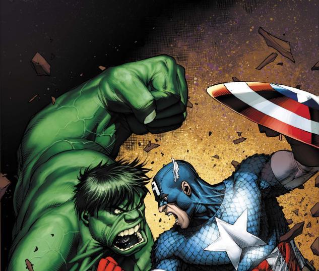 Incredible Hulks (2009) #624, Captain America 70th Anniversary Variant