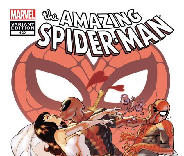 Amazing Spider-Man (1999) #620, Deadpool Variant