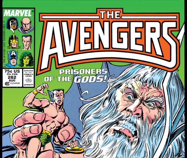 Avengers (1963) #282 Cover