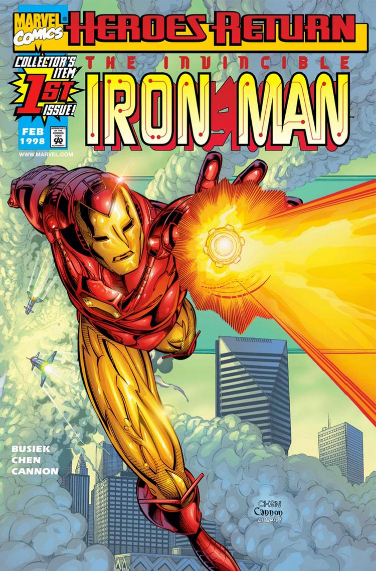Iron Man (1998) #1