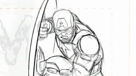 Marvel AR: Captain America #13: Artist Nic Klein